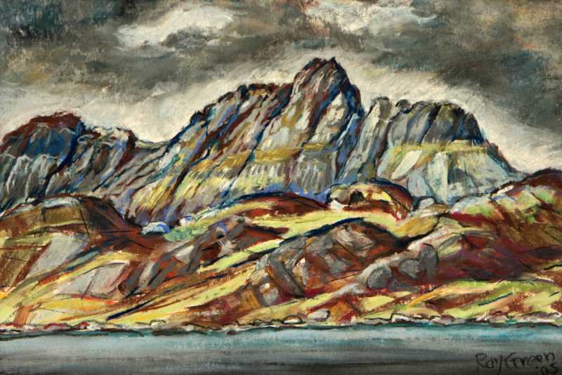 75 Stac Pollaidh (Gouache on Paper) (SOLD)