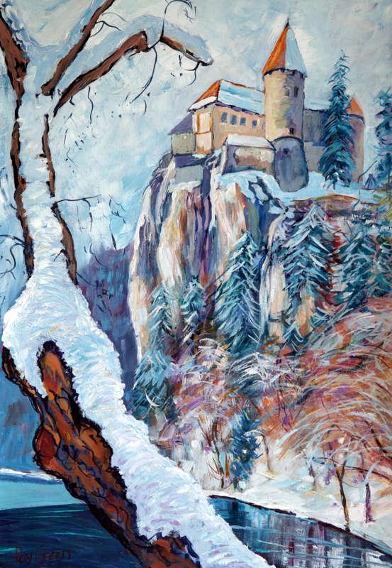 102 Winter Landscape (47 x 63cm)