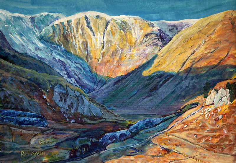 105 Kentmere (94 x 70cm. acrylic on board)