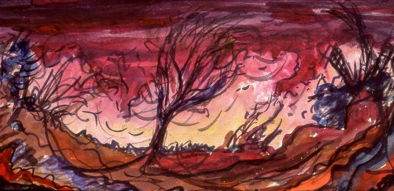 16. Wild red landscape
