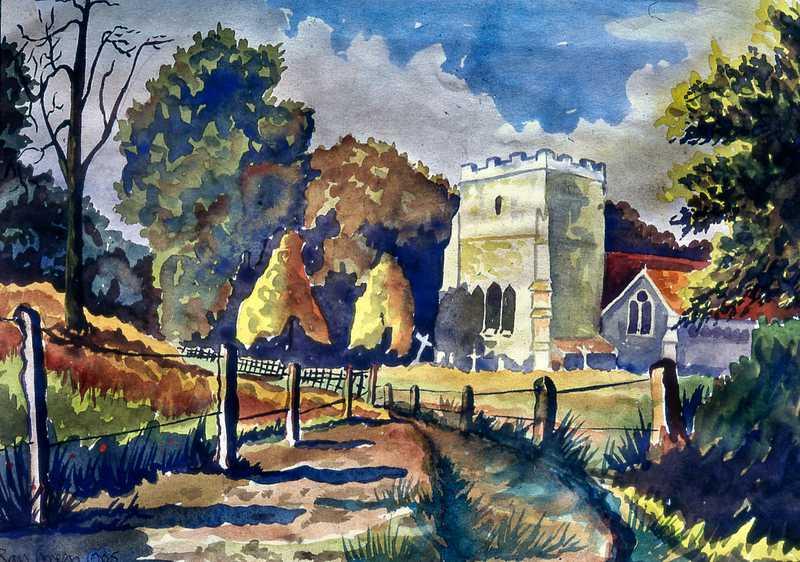 21. Country Church near Southampton