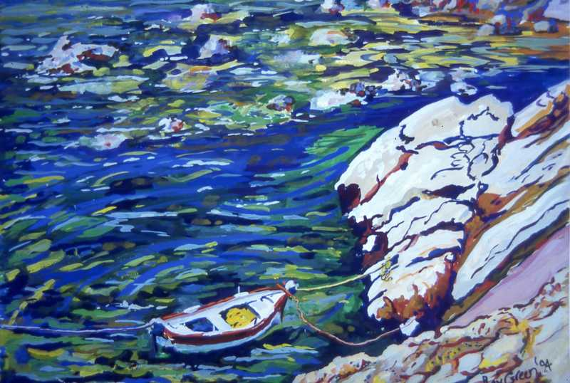 22. Greek fishing boat