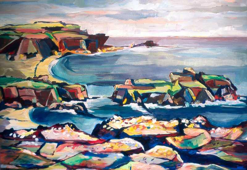 24. Wild Torridon cliffs