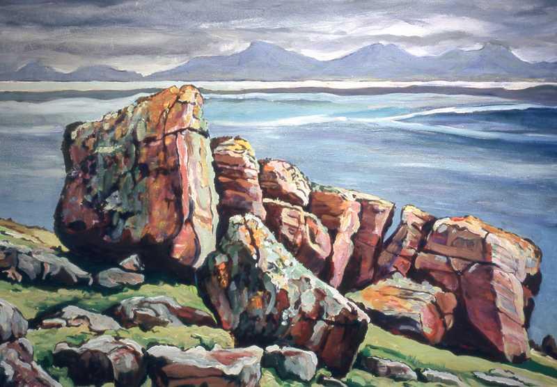 31. Old Torridon rocks