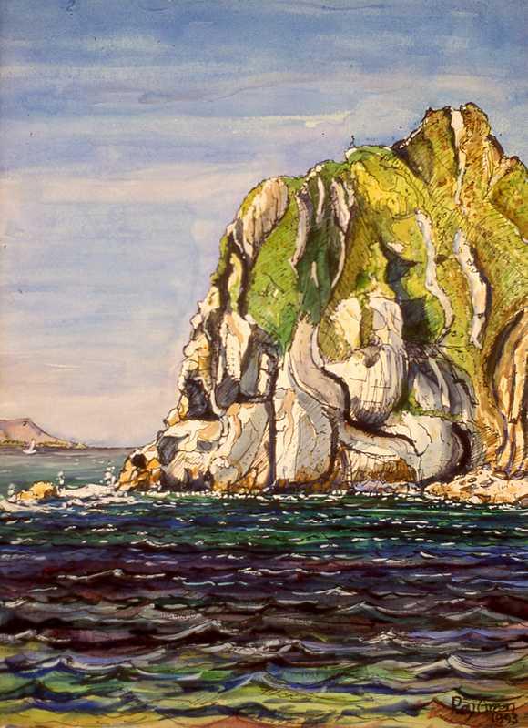 32. Dorset cliff