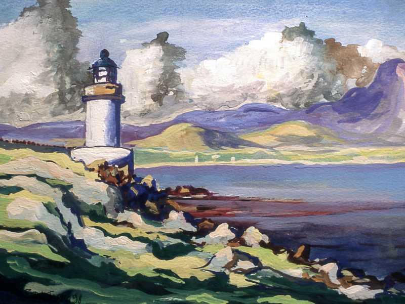 38. Scottish lighthouse
