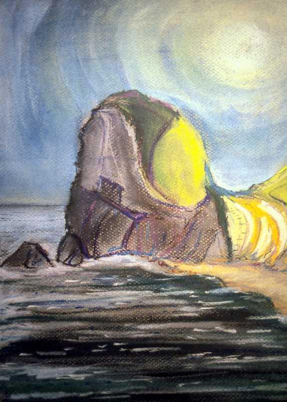 40. Wild Dorset cliffs