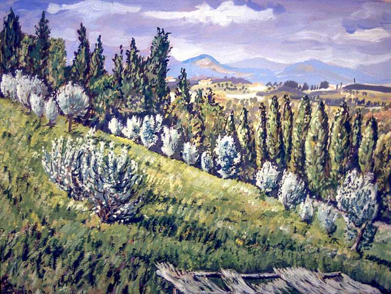 48. Tuscany landscape