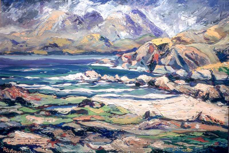 54. Scottish sea view