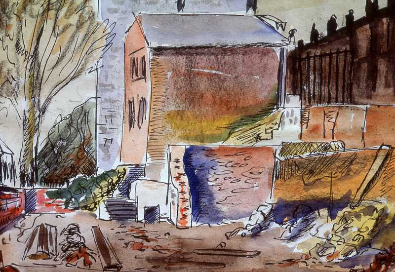 6. Bomb damaged Southampton